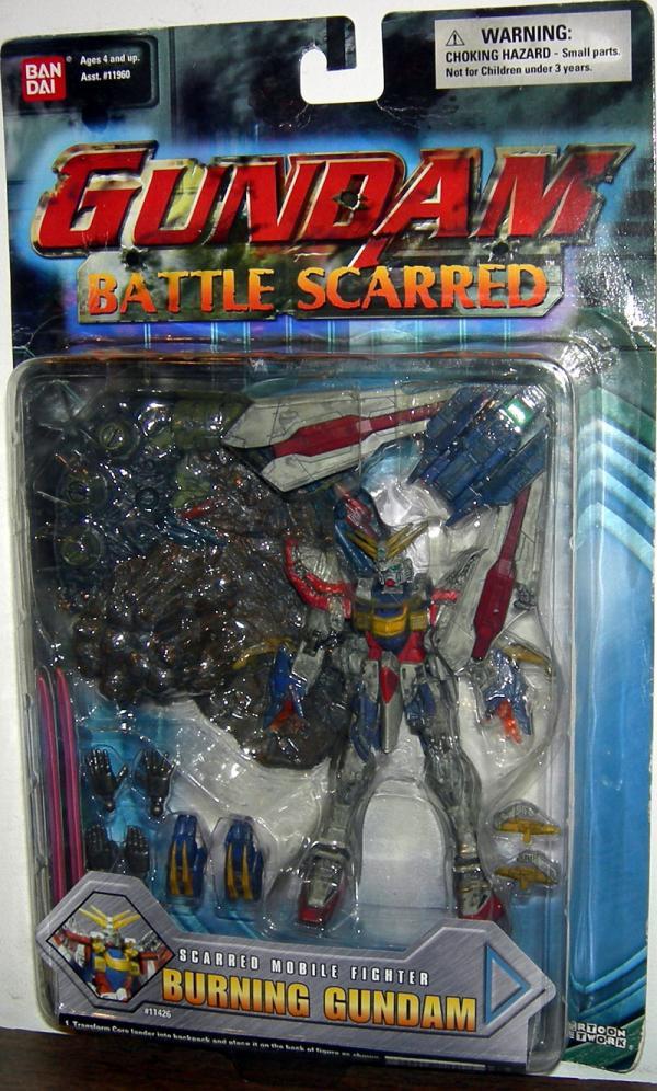 Burning Gundam Battle Scarred