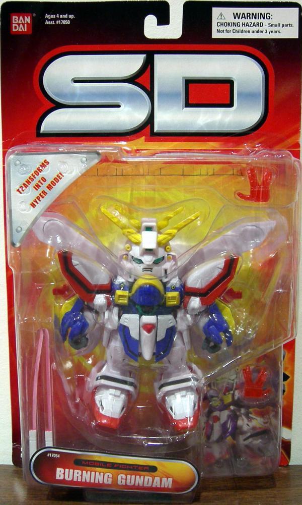 Burning Gundam Superior Defender Mobile Fighter action figure