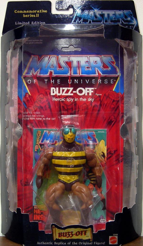 Buzz-Off Figure Commemorative Series II He-Man Masters Universe