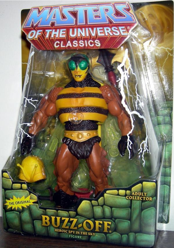 Buzz-Off Classics Figure Re-Release Masters Universe