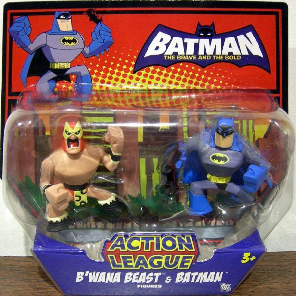 BWanna Beast Batman Action League