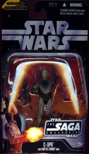 C-3PO Saga Collection, 017, C-3PO head body