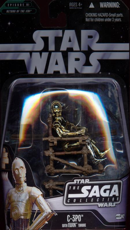 C-3PO Ewok Throne Saga Collection, 042