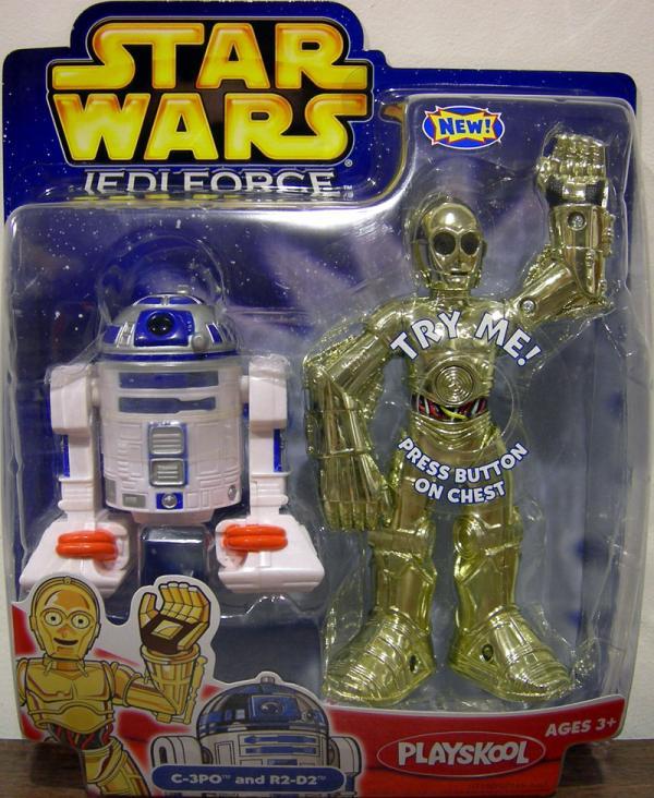 C-3PO R2-D2 Jedi Force