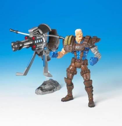 Cable Figure Marvel Legends Brown Legs Variant Toy Biz