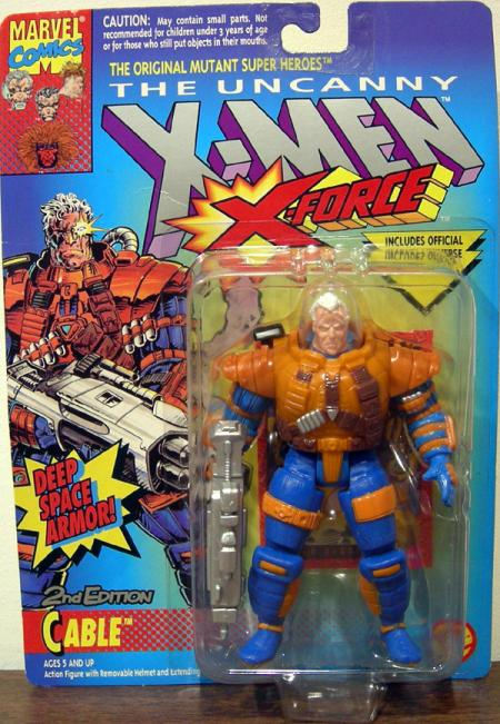 Cable Figure 2nd Edition X-Men X-Force