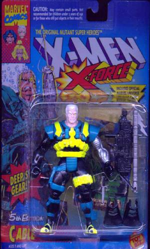 Cable 5th Edition Figure X-Men X-Force Toy Biz