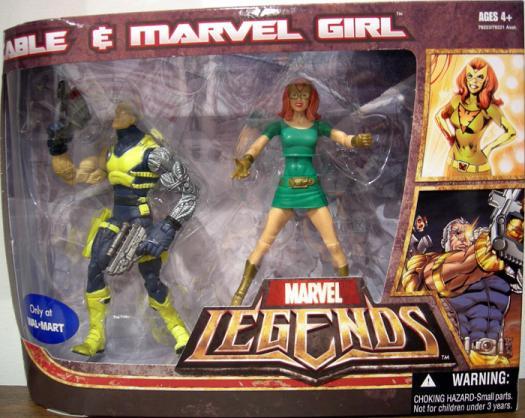 Cable Marvel Girl Figures Marvel Legends Walmart Exclusive