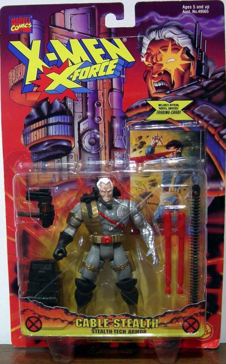 Cable Stealth Action Figure X-Men X-Force Toy Biz