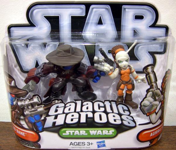 Cad Bane Aurra Sing Galactic Heroes Star Wars action figures