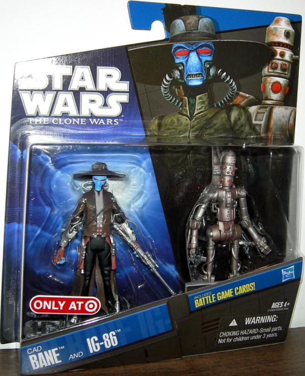 Cad Bane IG-86 2-Pack Star Wars action figures