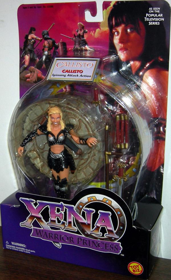 Callisto Figure Xena Warrior Princess Toy Biz
