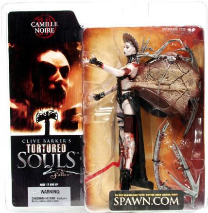 Camille Noire Tortured Souls 2 Spawn action figure
