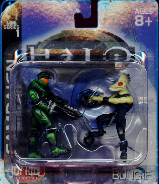 Campaign 2-Pack Mini Series 1 Halo action figures