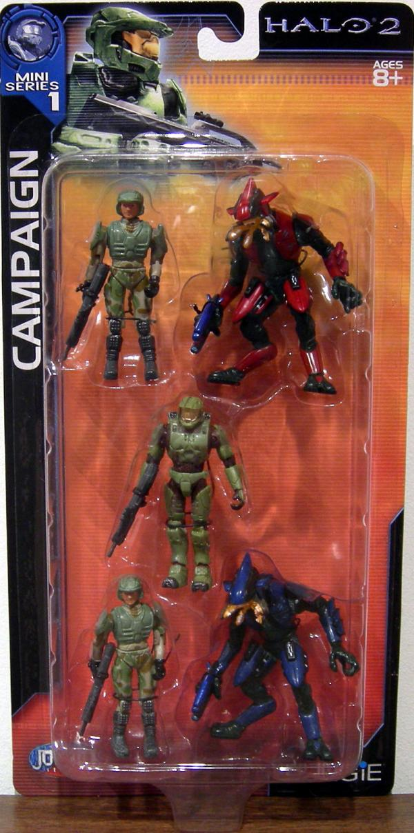 Campaign 5-Pack Halo 2, Mini Series 1