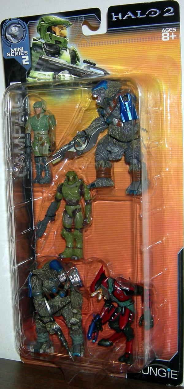 Campaign 5-Pack Halo 2, Mini Series 2