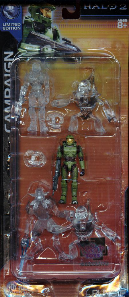 Campaign 5-Pack Halo 2, Nonstop Toys Exclusive