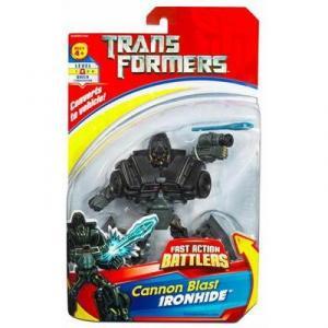 Cannon Blast Ironhide Fast Action Battlers Figure Hasbro