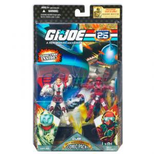 GI JOE 25th Anniversary Comic Pack- CAPTAIN ACE WILD WEASEL action figures