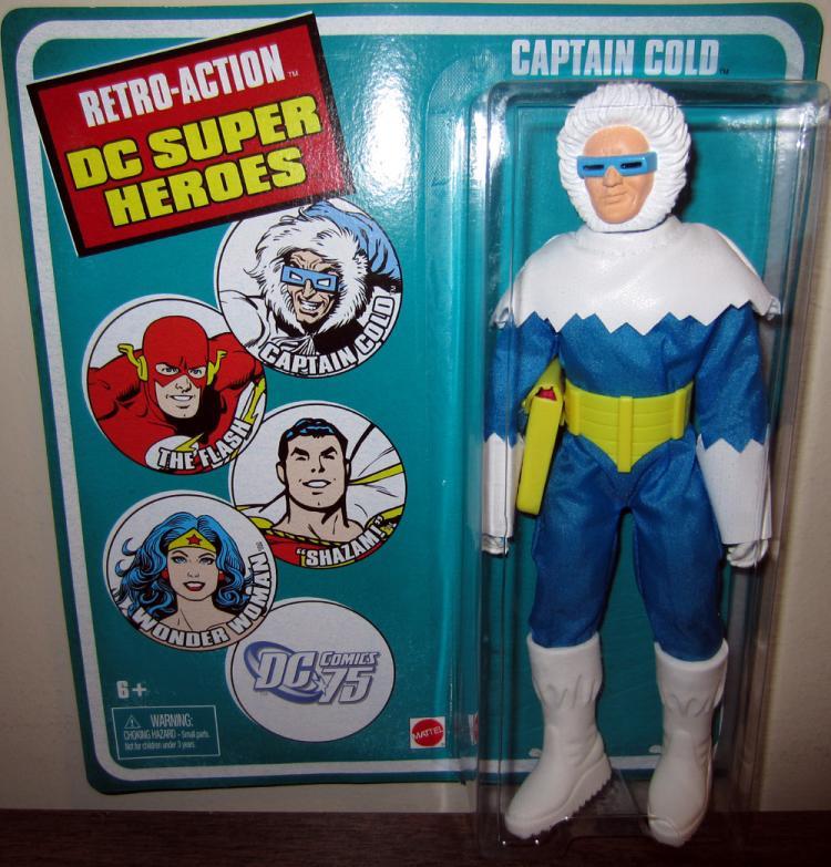 Captain Cold Figure Retro-Action DC Super Heroes