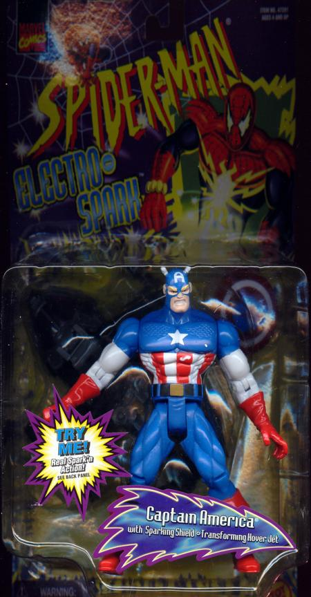 Captain America Electro-Spark