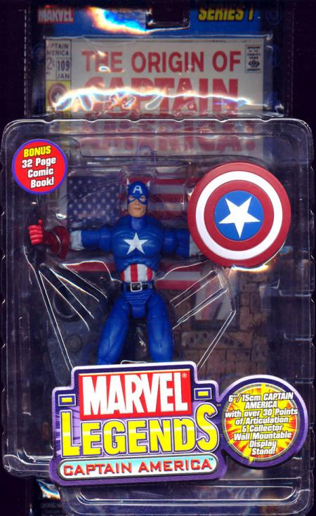 Captain America Marvel Legends