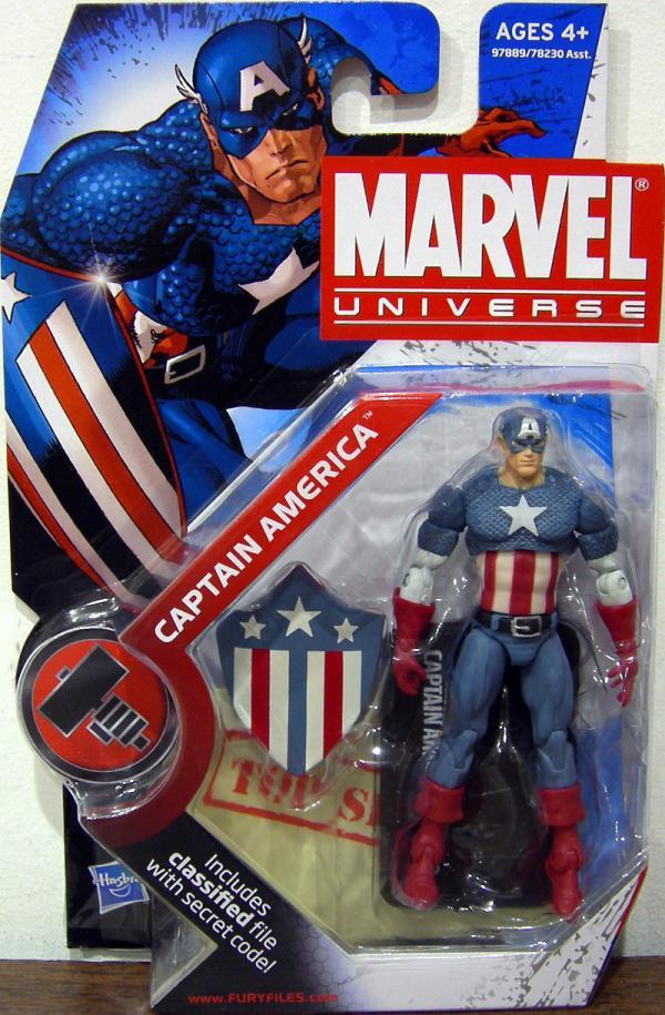 Captain America Marvel Universe, series 2, 008
