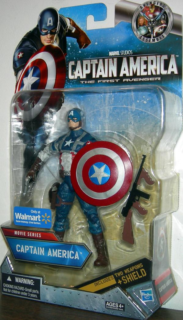 Captain America Movie Series Walmart Exclusive action figure