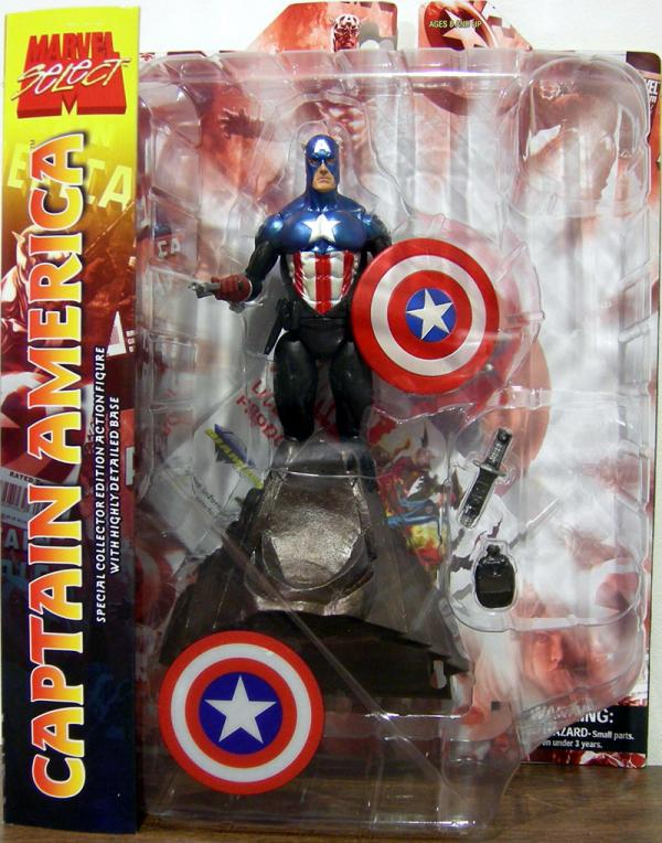 Captain America 34 Marvel Select