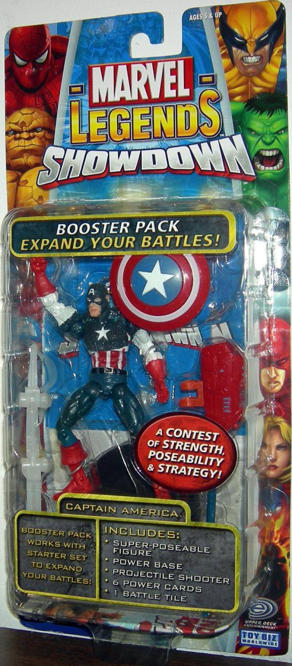 Captain America Figure Marvel Legends Showdown Super Hero