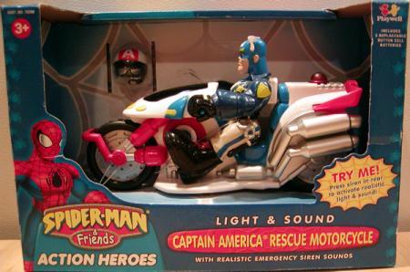 Captain America Rescue Motorcycle