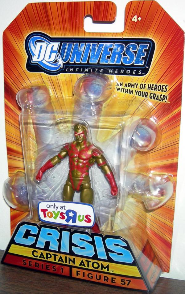 Captain Atom DC Universe Infinite Heroes Crisis action Figure 57