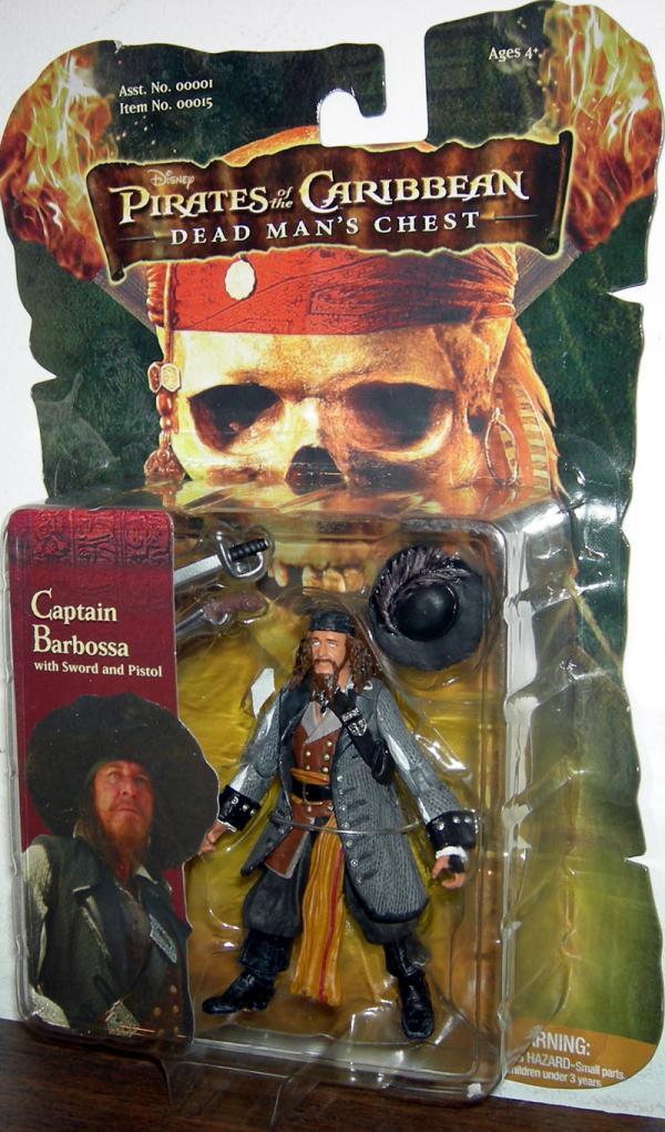 Captain Barbossa 3 1-2 inch
