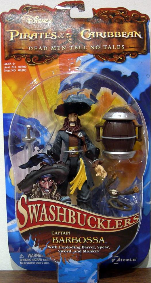 Captain Barbossa Swashbucklers