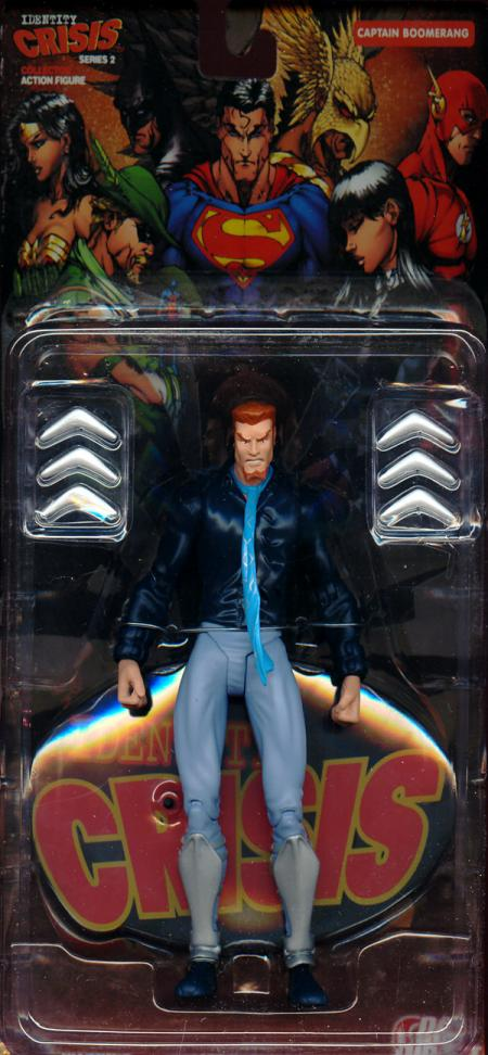 Captain Boomerang Figure Identity Crisis Series 2 DC Direct