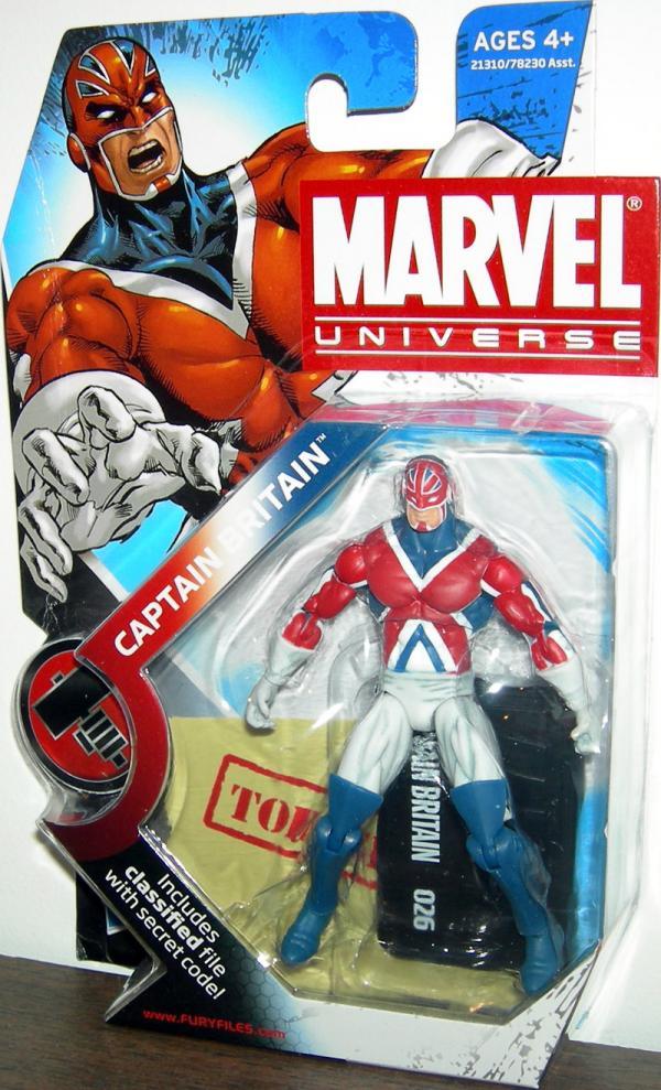 Captain Britain Marvel Universe Series 2 026 action figure