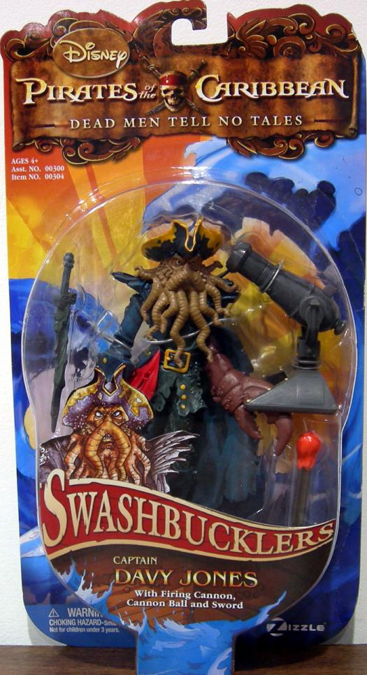 Captain Davy Jones Swashbucklers Pirates Caribban action figure