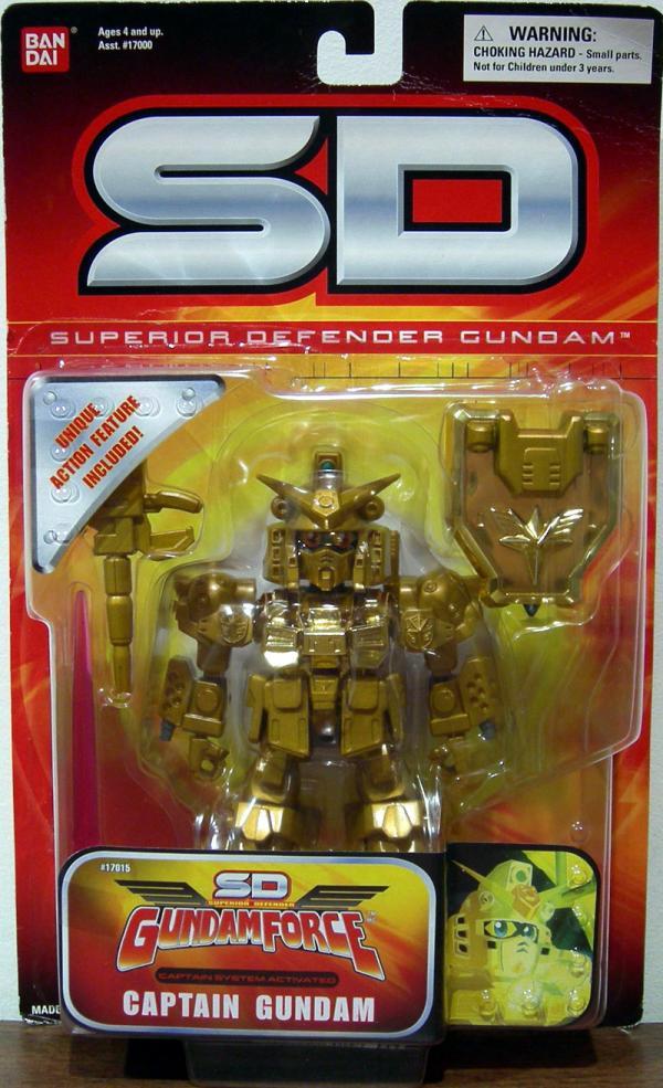 Captain Gundam Superior Defender, gold
