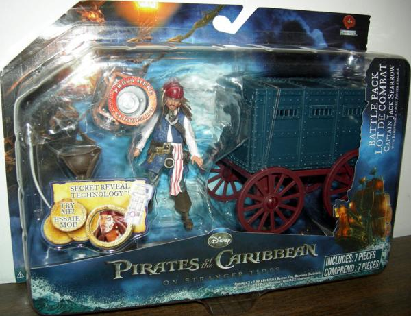 Captain Jack Sparrow paddy wagon battle pack