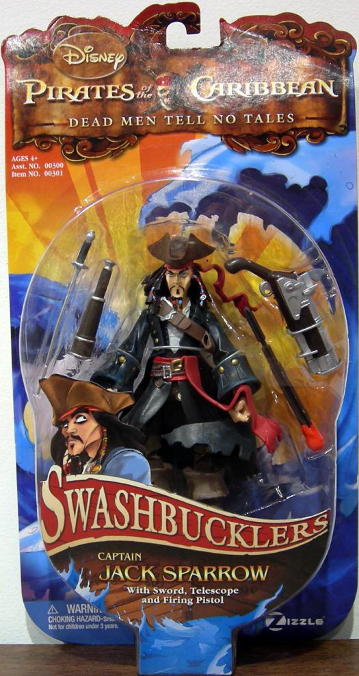 Captain Jack Sparrow Swashbucklers