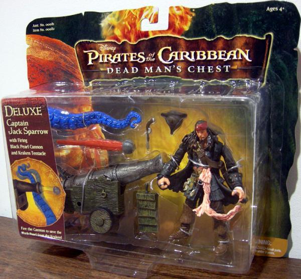 Captain Jack Sparrow Kraken Tentacle, 3 1-2 inch Deluxe