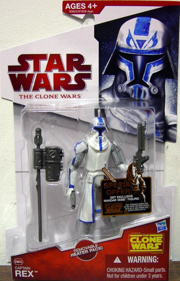 Captain Rex CW50 Star Wars Clone Wars action figure