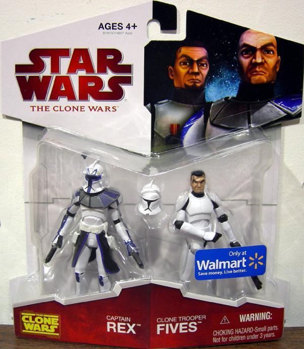 Captain Rex Clone Trooper Fives 2-Pack