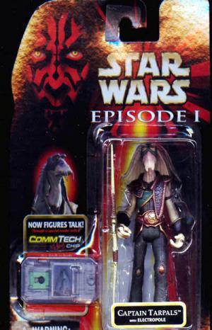 Captain Tarpals Figure Electropole Star Wars Episode 1
