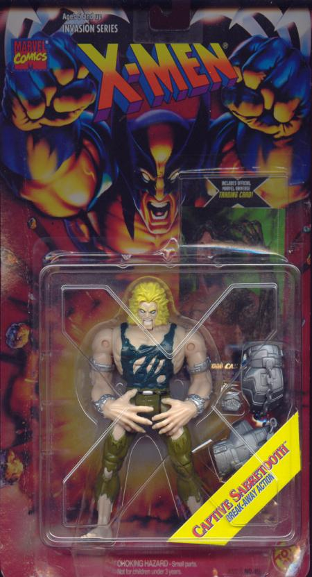 Captive Sabretooth X-Men Invasion Series action figure