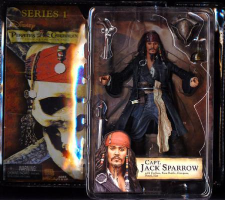 Capt Jack Sparrow mouth closed