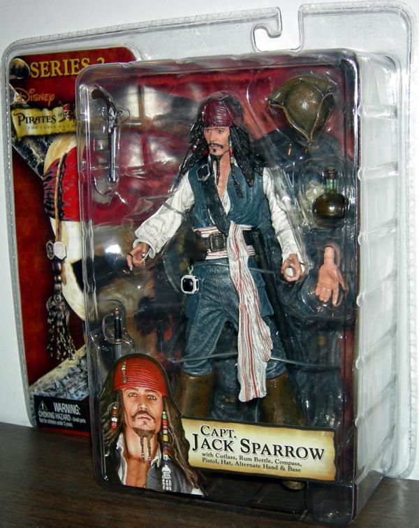 Capt Jack Sparrow Curse Black Pearl, series 2