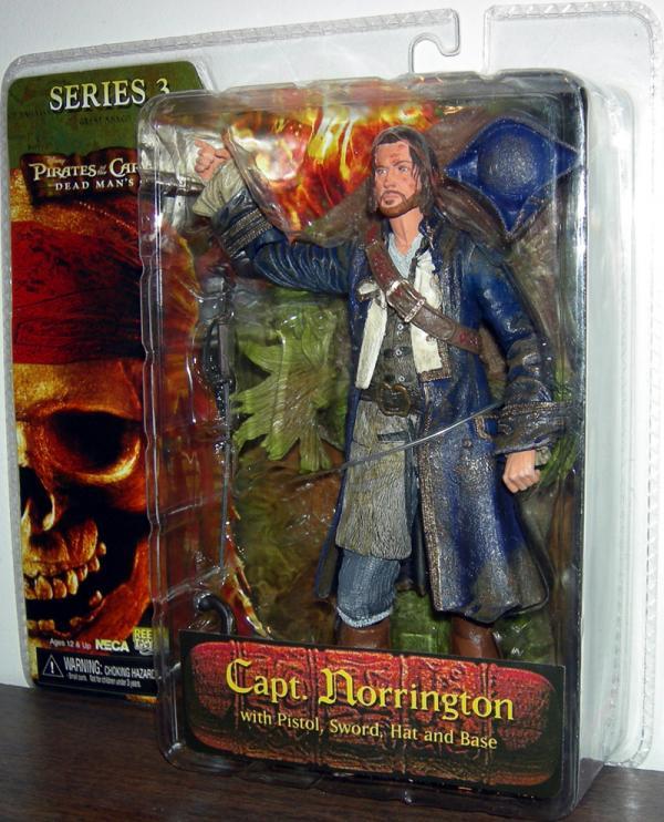 Capt Norrington Pirates Caribbean Dead Mans Chest action figure