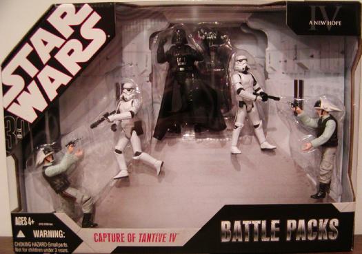 Capture Tantive IV Figures Battle Packs Star Wars New Hope