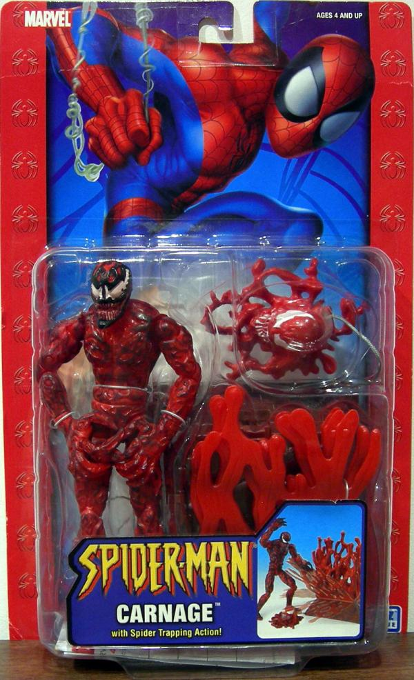 Carnage Spider Trapping Action figure Spider-Man Classic action figure